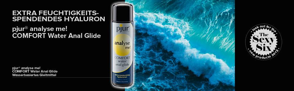 Anální lubrikační gel na vodní bázi s komfortnějším lubrikačním efektem, speciálně pro intenzivní anální styk.