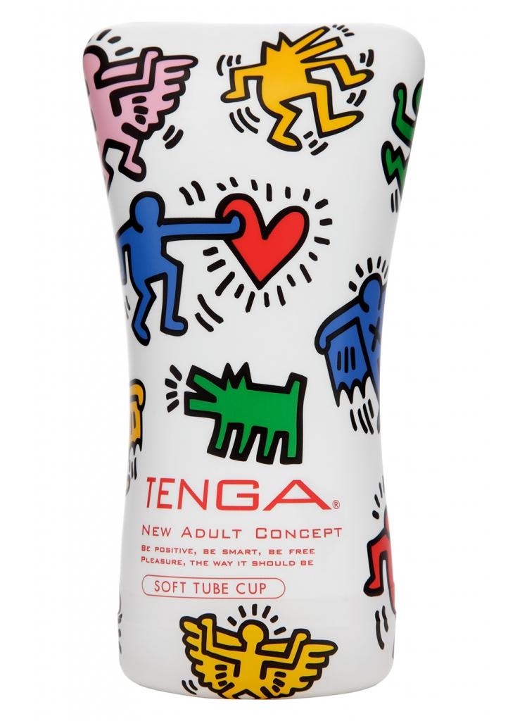Tenga SOFT Soft Tube Cup Keith Haring