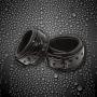 Pouta Sinful Wrist Cuffs jsou krásným, elegantním doplňkem, který oživí Vaše erotické hrátky. Jsou vyrobena z lisovaného vinylu s plastickým vzorem, na spodní straně je podšitý měkkým neoprenem, zajiš…