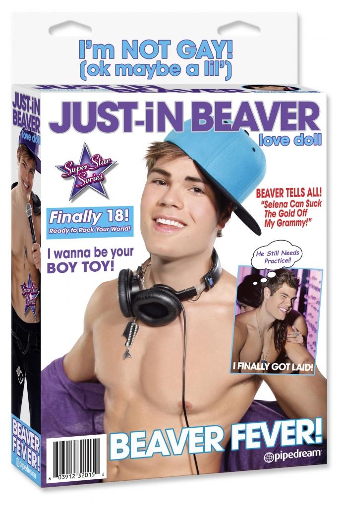 Just-in Beaver Love Doll nafukovací panák - Pipedream