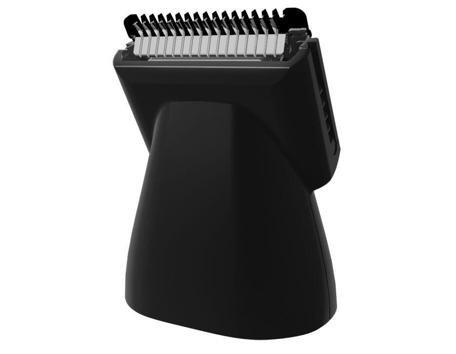 Trimmer pro holení vousů s hřebenem pro nastavení délky