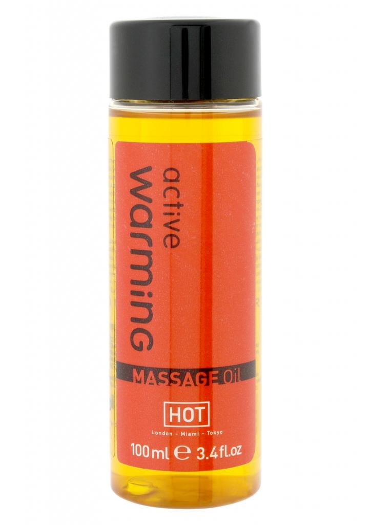 Masážní olej HOT Warming 100ml