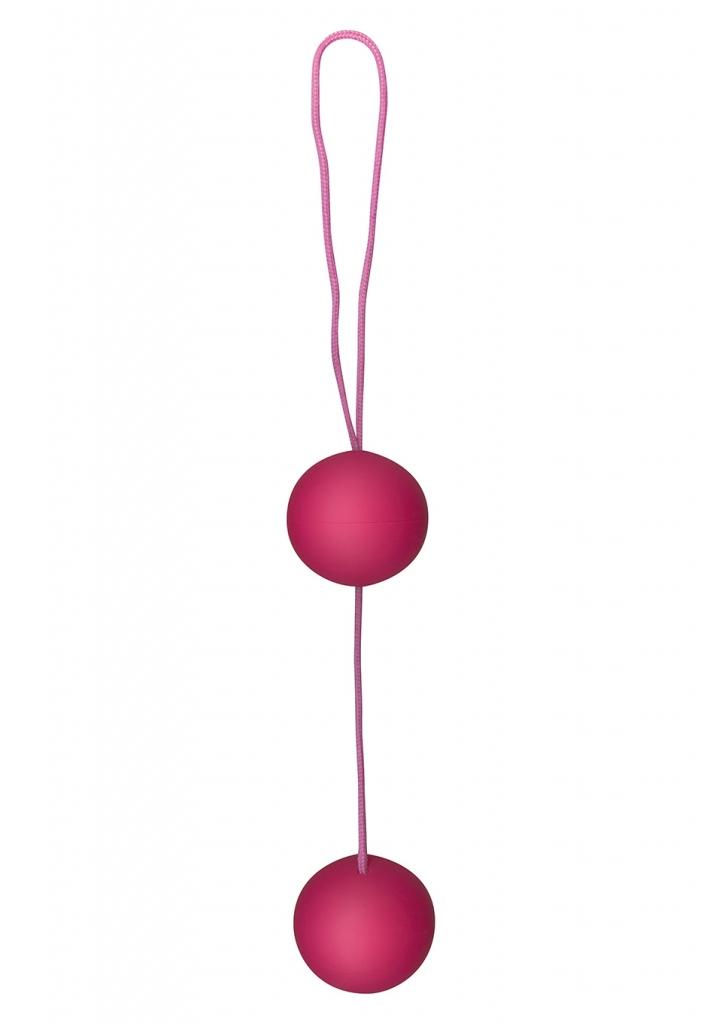 Venušiny kuličky Funky Love Balls pink - Toy Joy