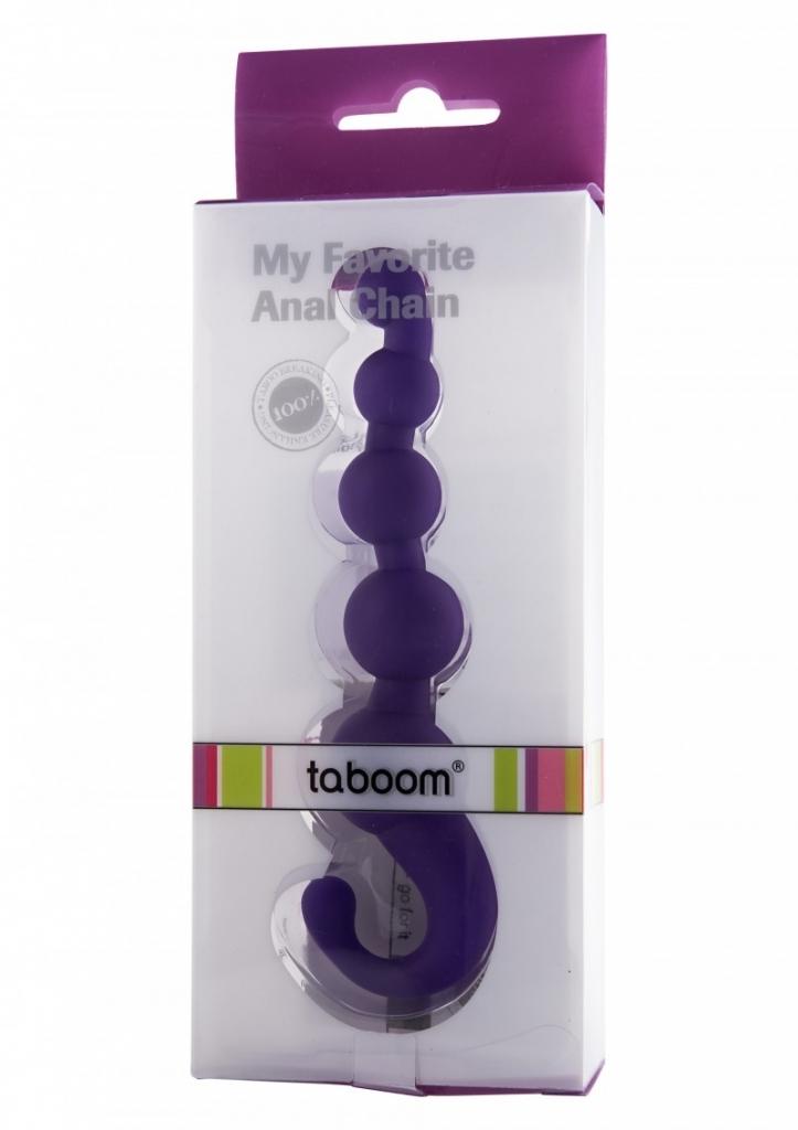 Taboom My Favorite Analchain purple anální řetěz