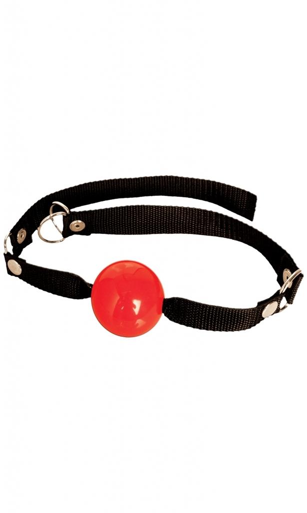 Pipedream - Roubík Beginner ball gag red