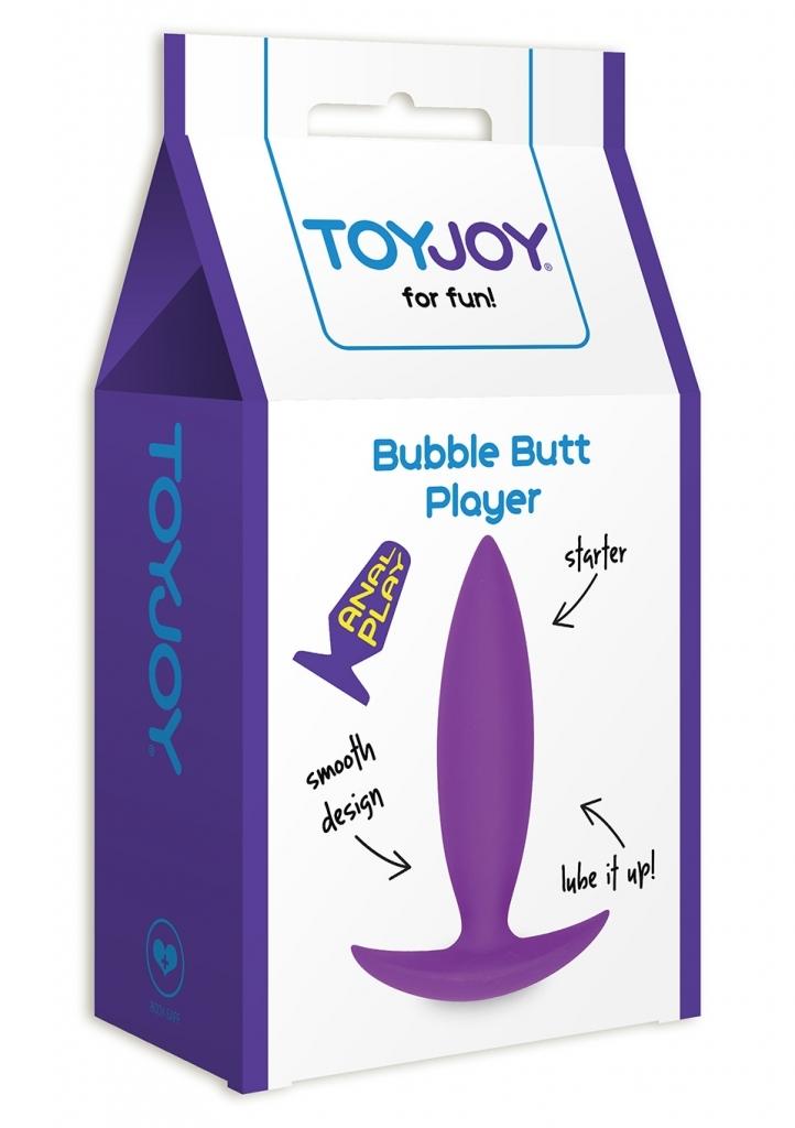 ToyJoy - Anální kolík Bubble Butt Player Starter purple