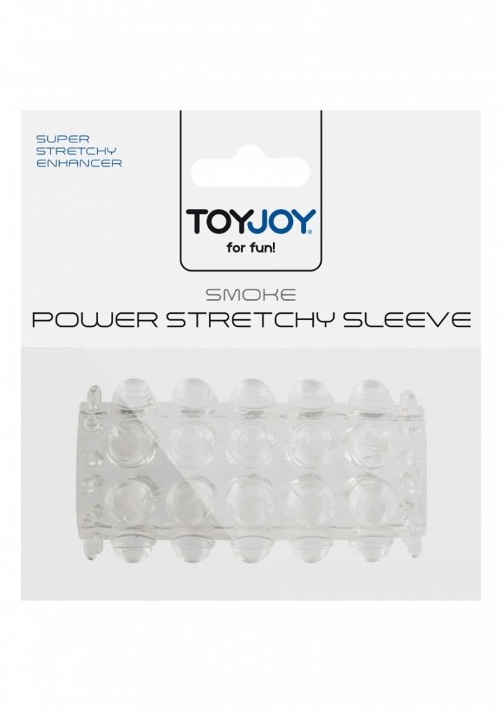 ToyJoy Power Stretchy Sleeve Transparentní návlek na penis