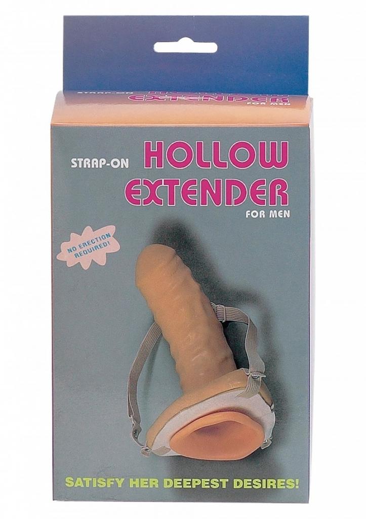 Seven Creations Hollow Extender Man připínací penis