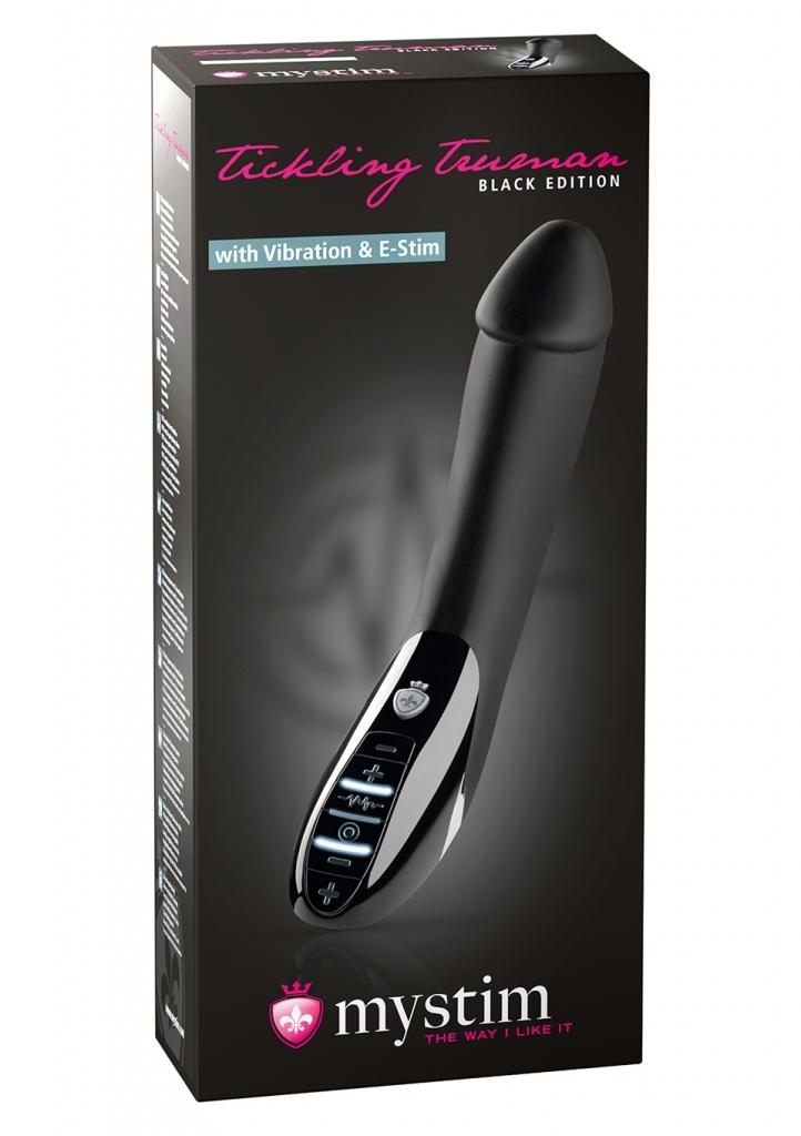 Mystim Tickling Truman Black Edition Elektro Vibrátor