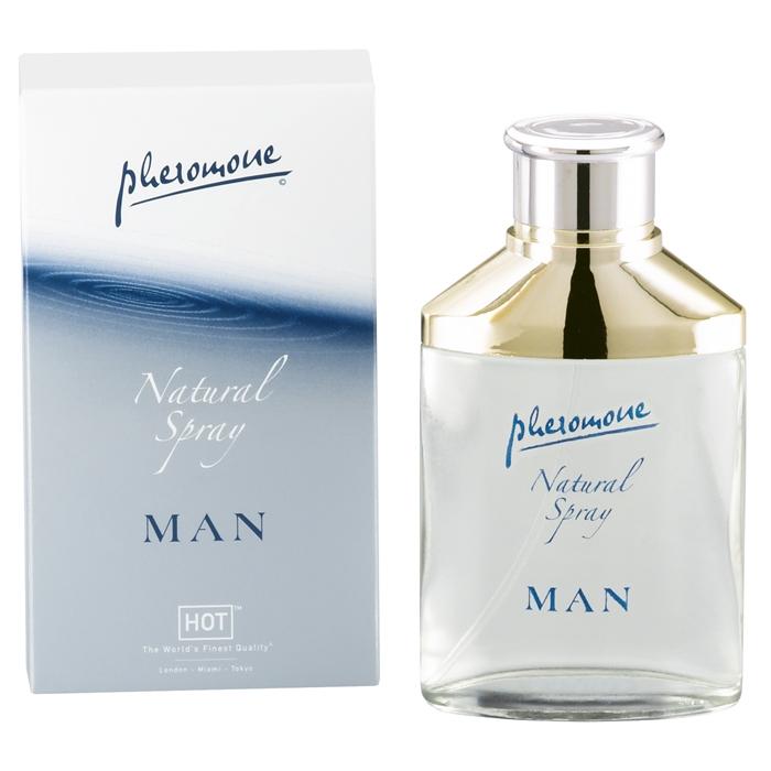 HOT man natural 50ml feromonový parfém pro muže