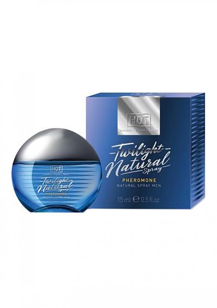 HOT Twilight Natural Spray men 15 ml - feromonový sprej pro muže