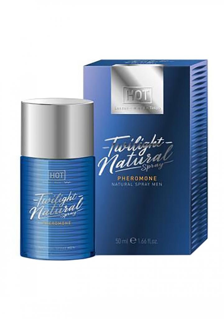 HOT Twilight Natural Spray men 50 ml - feromonový sprej pro muže