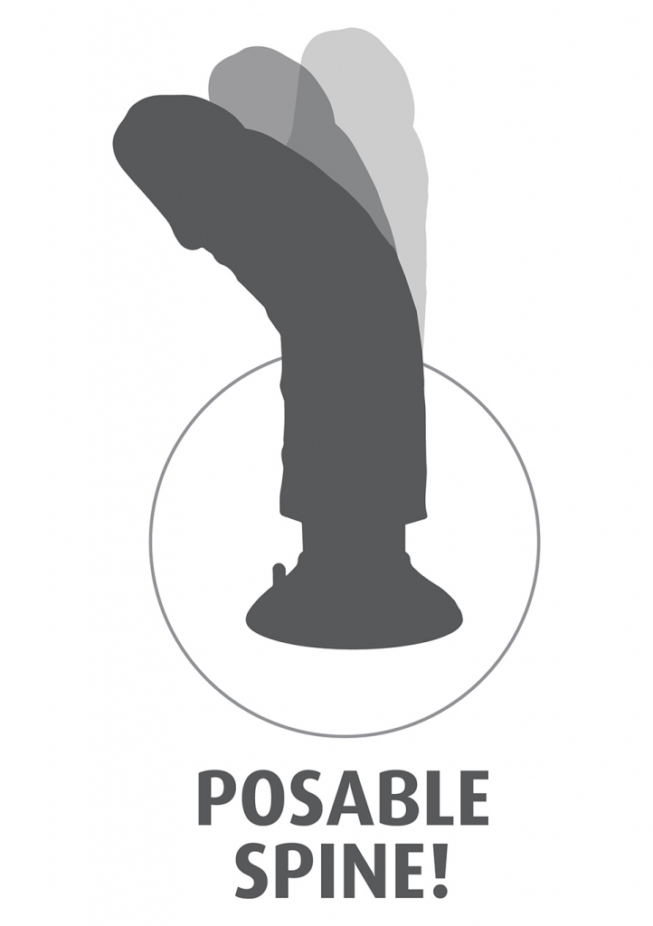 Pipedream King Cock 8