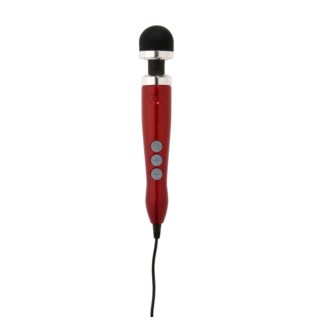 DOXY Number 3 Wand Massager red