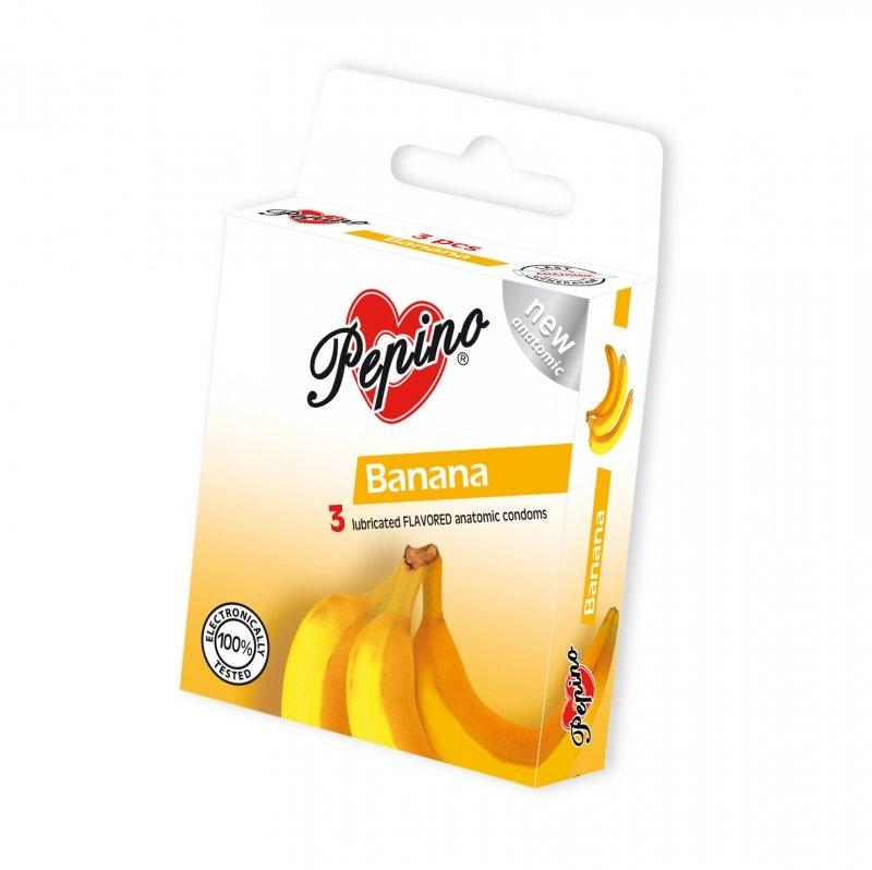 Kondomy Pepino Banán 3 ks