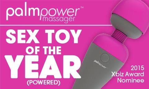 Masážní hlavice PalmPower od BMS Factory byla nominována na cenu XBIZ Award 2015 v kategorii Erotická pomůcka roku