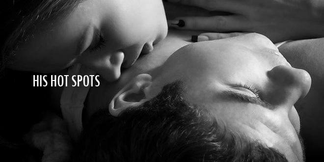 """JEHO """"Hot-spoty"""", neboli  Erotogenní zóny muže"""