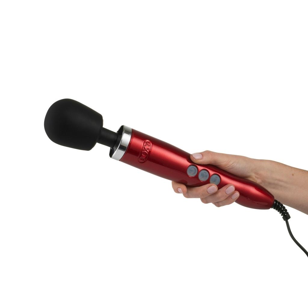 DOXY Die Cast Wand Massager red