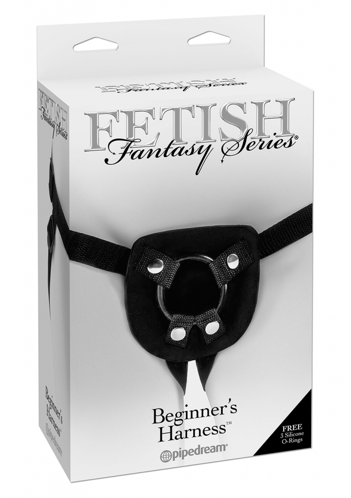 Pipedream Fetish Fantasy Beginners Harness Připínací postrojek
