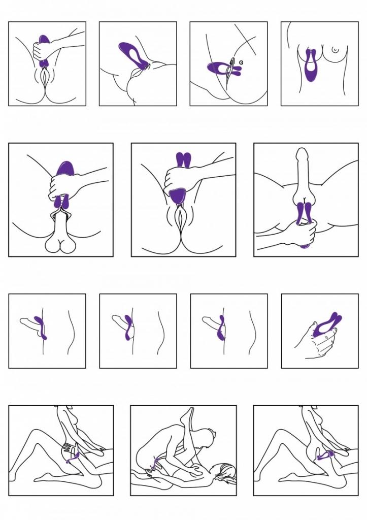 ToyJoy Icon Couples Massager vibrátor pro páry