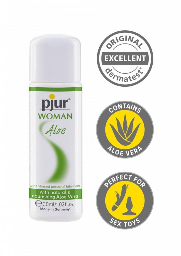 Pjur Woman Aloe 30 ml lubrikační gel