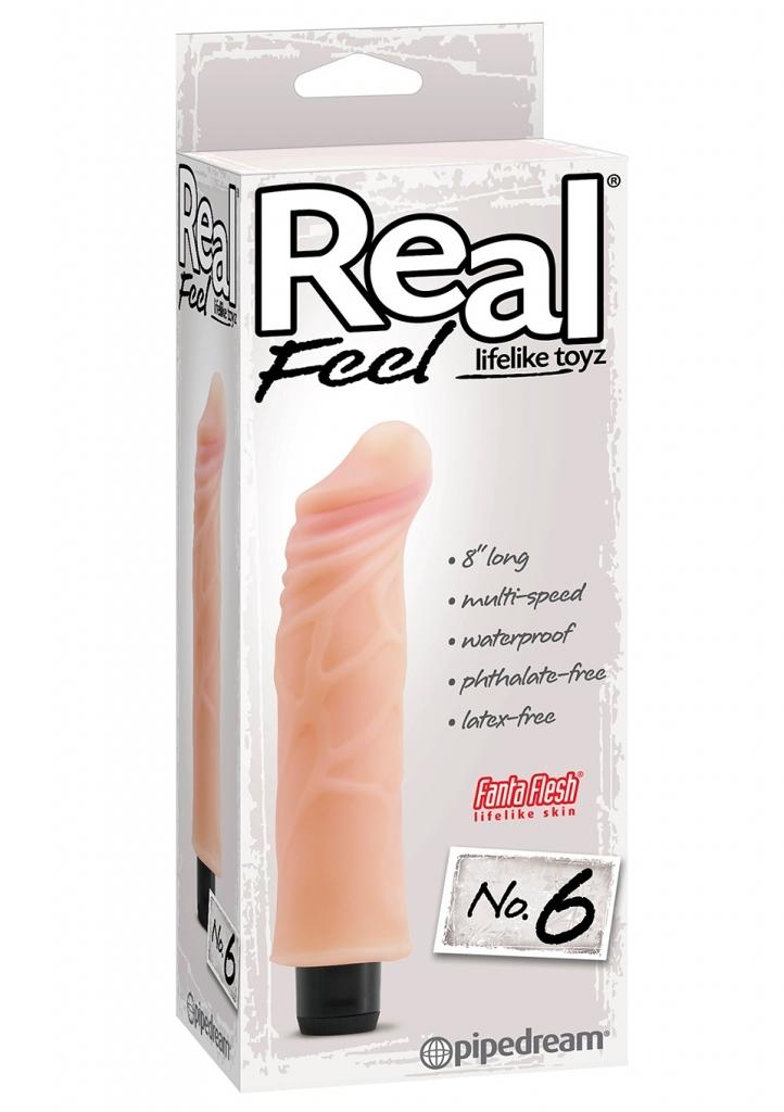 Pipedream Real Feel No 6 G bod vibrátor