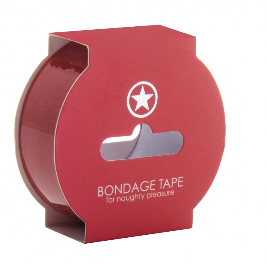 Shots - Ouch! Bondage Tape red 17,5 m