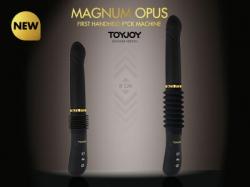 Přirážecí vibrátor Magnum Opus od ToyJoy