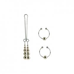 Calexotics Šperk na klitoris a piercing na bradavky