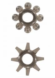Erekční kroužky ToyJoy Power Stretchy Rings smoke 2ks