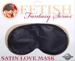Pipedream Fetish Fantasy Satin Love Mask black