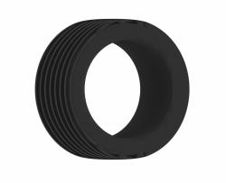 Shots - SONO No.42 Cockring Black erekční kroužek