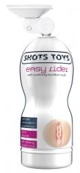 Shots Toys Easy Rider with Strong Suction masturbátor-vagína