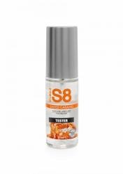 Stimul8 - S8 Lubrikant na vodní bázi s příchutí slaný karamel 50ml TESTER