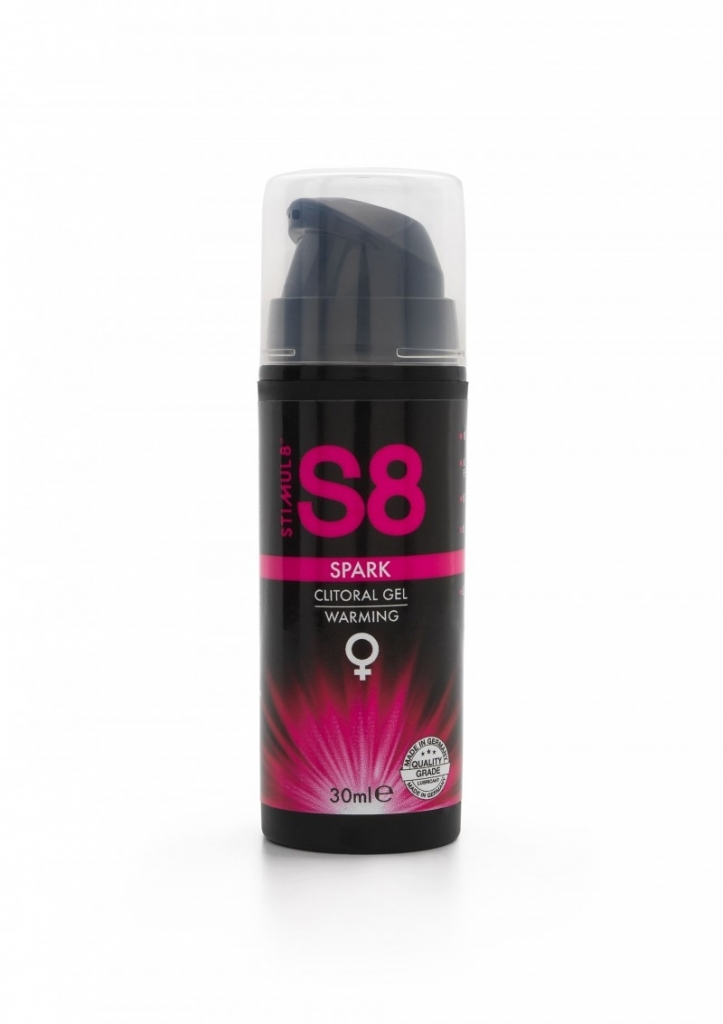 Stimul8 - S8 Spark Clitoral Gel hřejivý 30ml