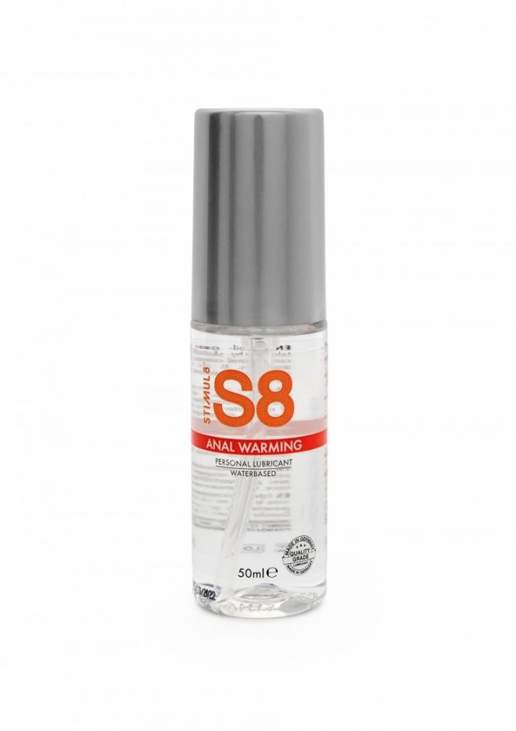 Stimul8 - S8 Warming Anal Lubrikant na vodní bázi 50ml