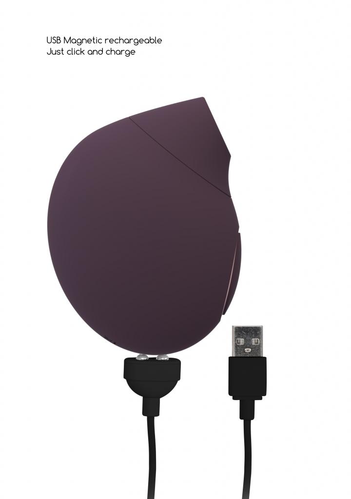 Shots - Irresistible Seductive purple stimulátor klitorisu