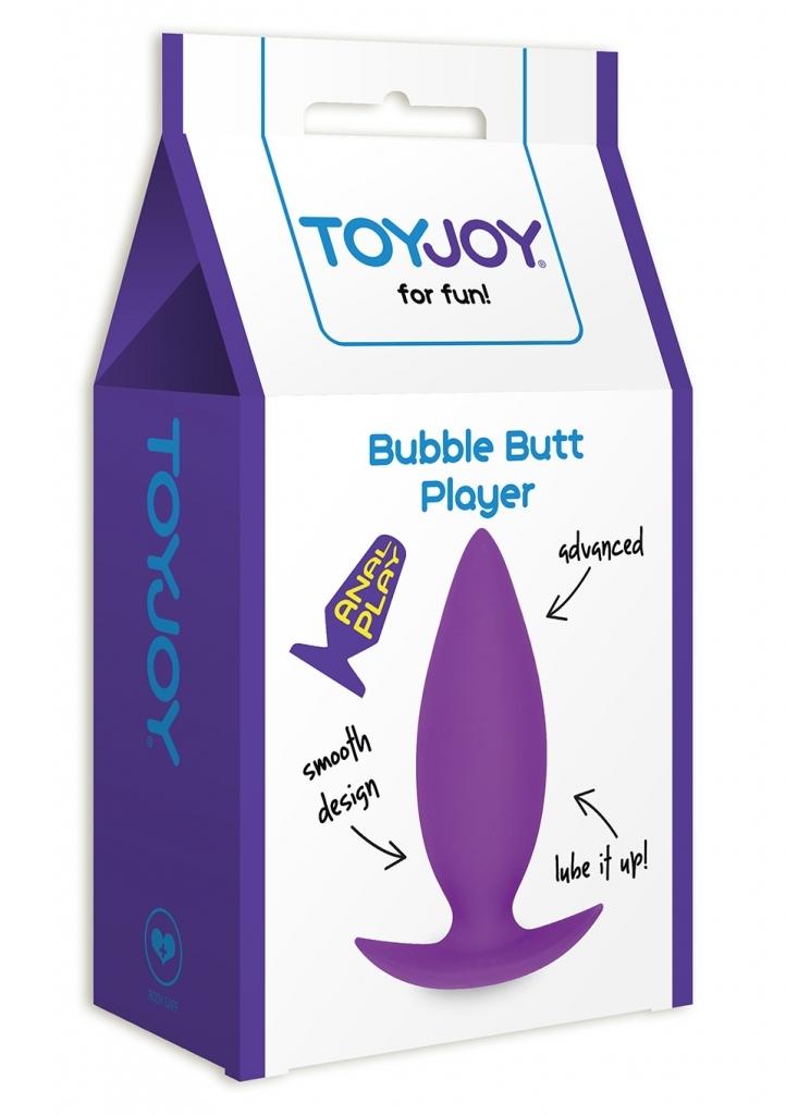 ToyJoy - Anální kolík Bubble Butt Player Advanced purple