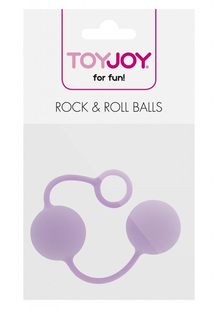 ToyJoy Rock & Roll Balls lavender venušiny kuličky
