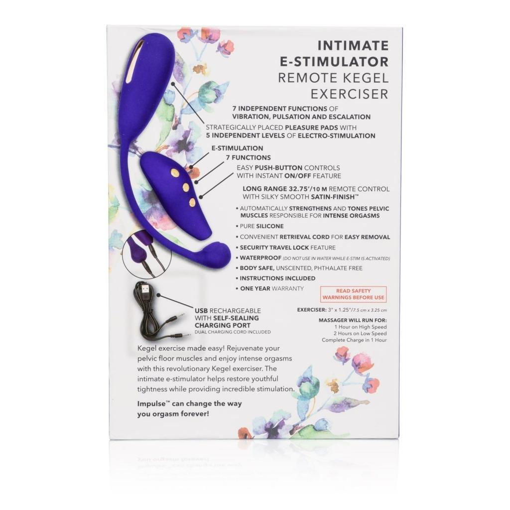 Calexotics Impulse E-stim Remote Kegel Exerciser
