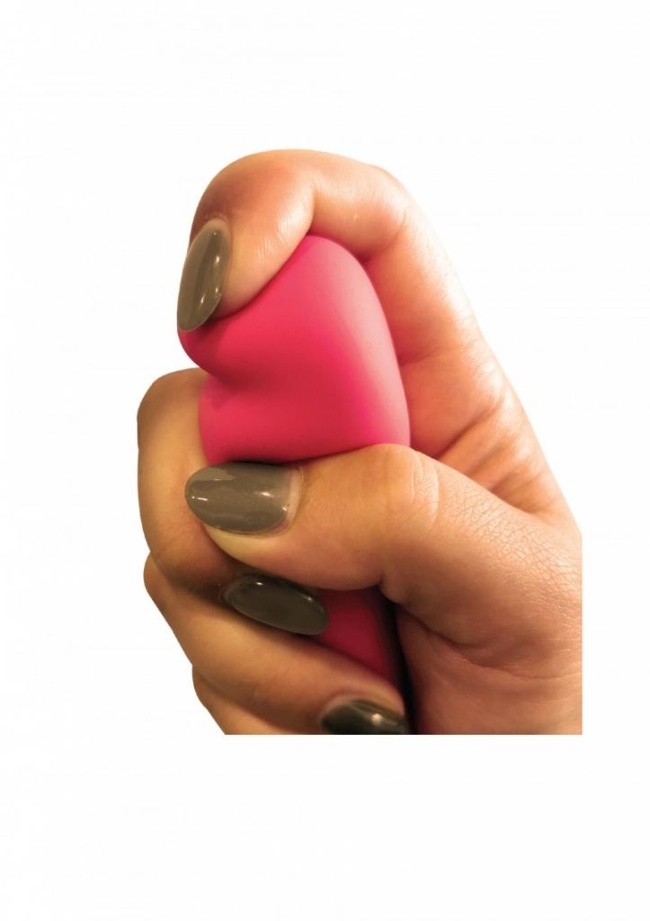 ToyJoy Silk Intense Soft Silicone Rabbit pink vibrátor